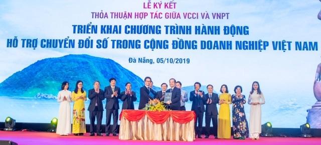 VNPT và VCCI cùng đồng hành hỗ trợ doanh nghiệp chuyển đổi số - 2
