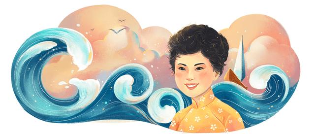 Xuân Quỳnh là nữ sĩ đầu tiên của Việt Nam được Google vinh danh - 1