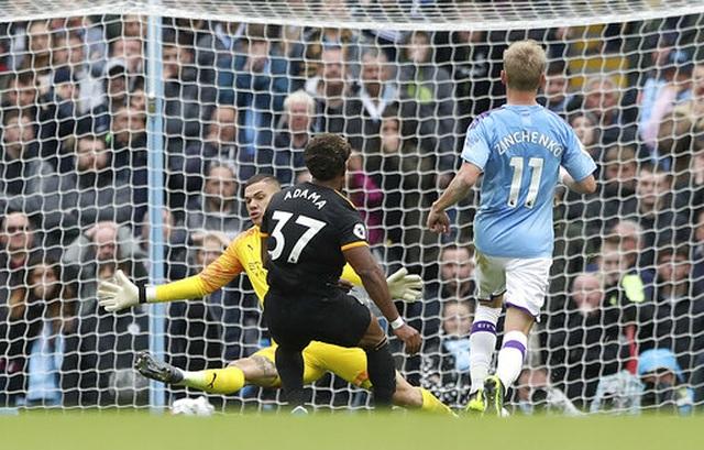 Man City 0-2 Wolves: Cú đúp của Traore - 14