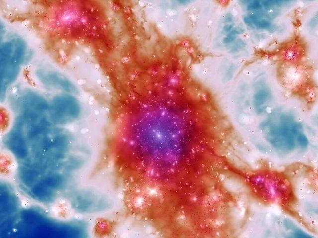 Hình ảnh mới nhất hé lộ cấu trúc của mạng lưới vũ trụ - 2