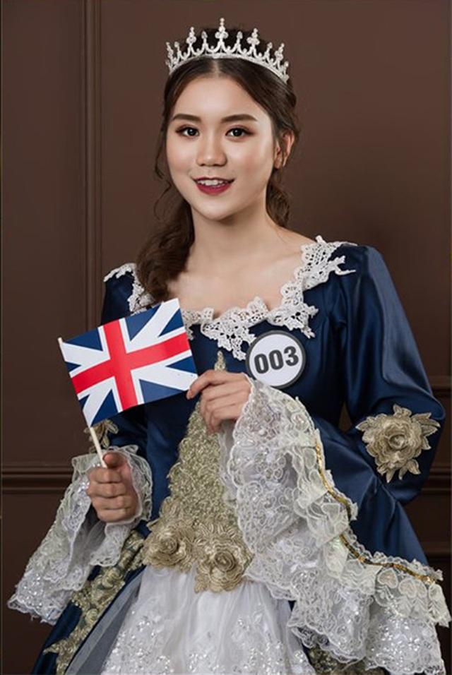 Top 10 Hoa khôi ĐH Hà Nội khoe sắc với trang phục khắp 5 châu - 3