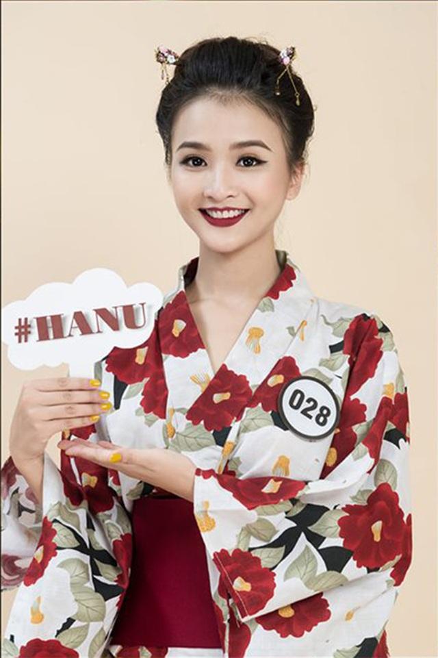 Top 10 Hoa khôi ĐH Hà Nội khoe sắc với trang phục khắp 5 châu - 9