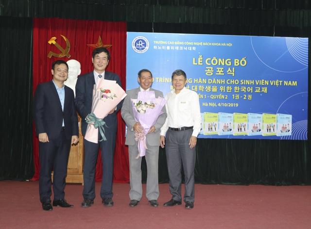 Ra mắt giáo trình tiếng Hàn dành cho sinh viên Việt nam - 1