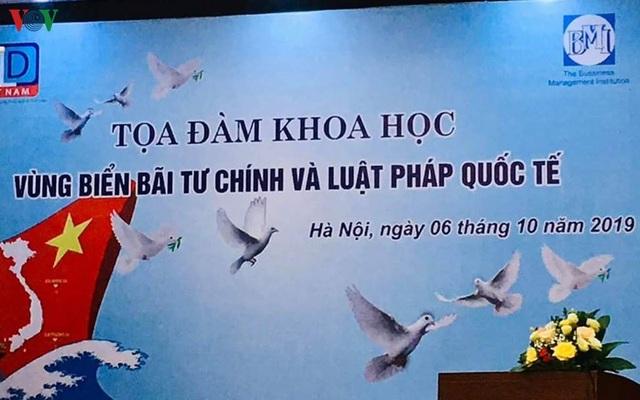 Trung Quốc luôn đuối lý trong vụ việc Bãi Tư Chính ở Biển Đông - 1