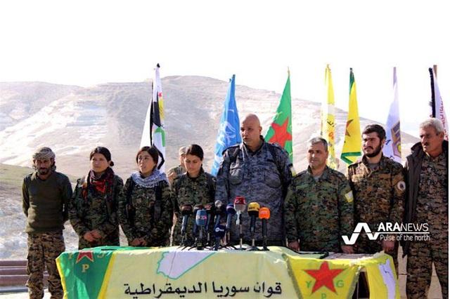"""Người Kurd cảnh báo """"chiến tranh toàn diện"""" với Thổ Nhĩ Kỳ tại Syria - 1"""