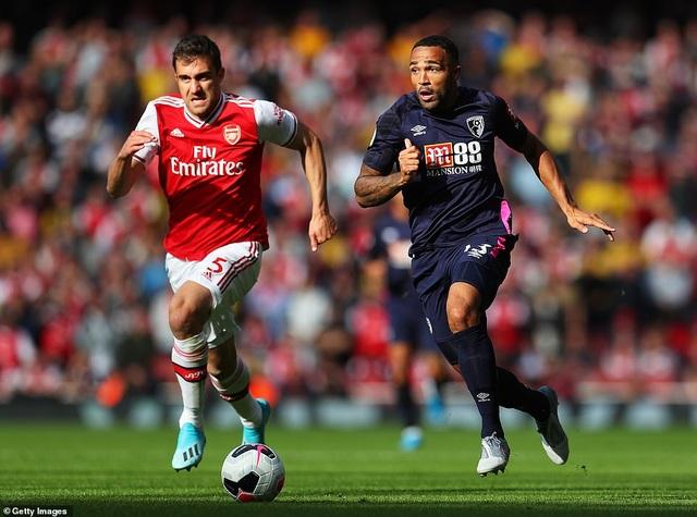 Luiz lập công, Arsenal thắng nhẹ Bournemouth - 3