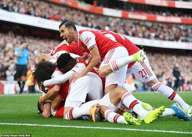 Luiz lập công, Arsenal thắng nhẹ Bournemouth - 1