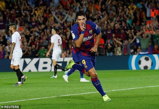 Messi và Luis Suarez rực sáng, Barcelona thắng đậm Sevilla - 1