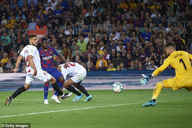 Messi và Luis Suarez rực sáng, Barcelona thắng đậm Sevilla - 5