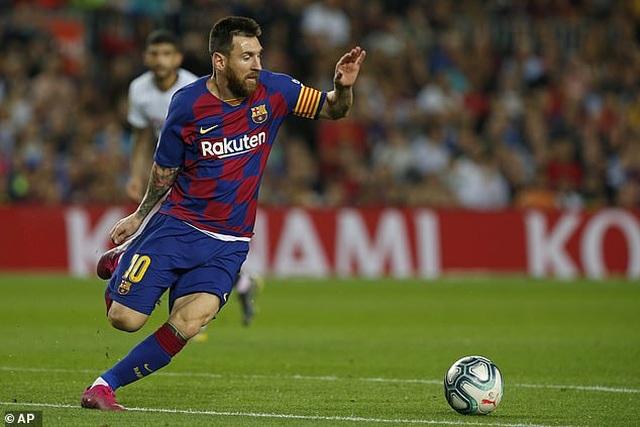 Messi và Luis Suarez rực sáng, Barcelona thắng đậm Sevilla - 12