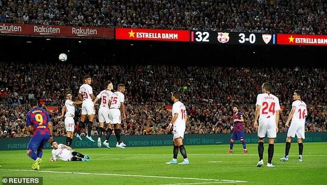 Messi và Luis Suarez rực sáng, Barcelona thắng đậm Sevilla - 9