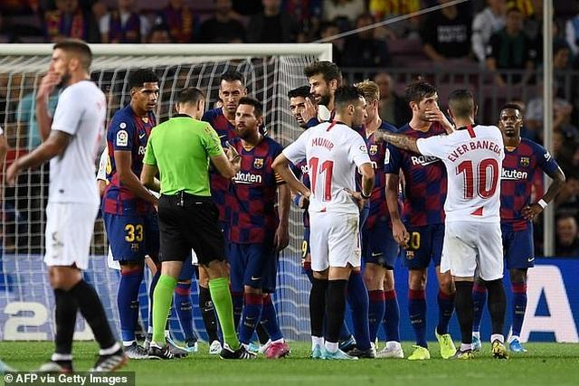 Messi và Luis Suarez rực sáng, Barcelona thắng đậm Sevilla - 6