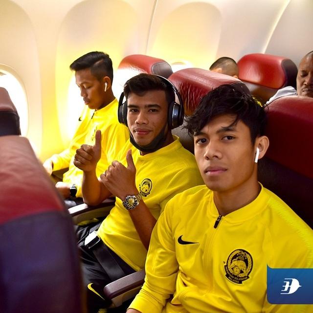 Đội tuyển Malaysia có mặt tại Hà Nội, từ chối trả lời phỏng vấn - 6