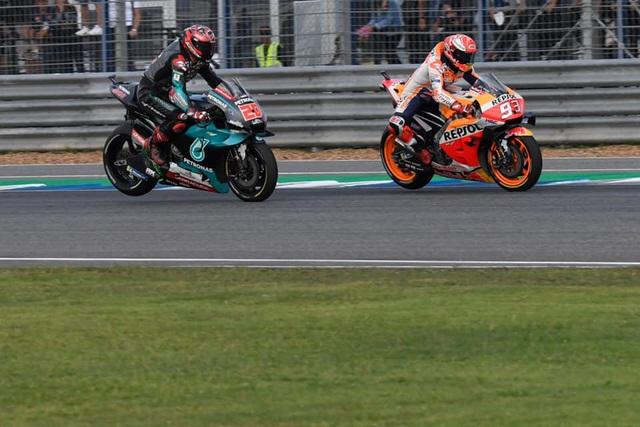 Chặng 15 MotoGP 2019: Marquez thắng ấn tượng trước Quartararo để vô địch thế giới - 8