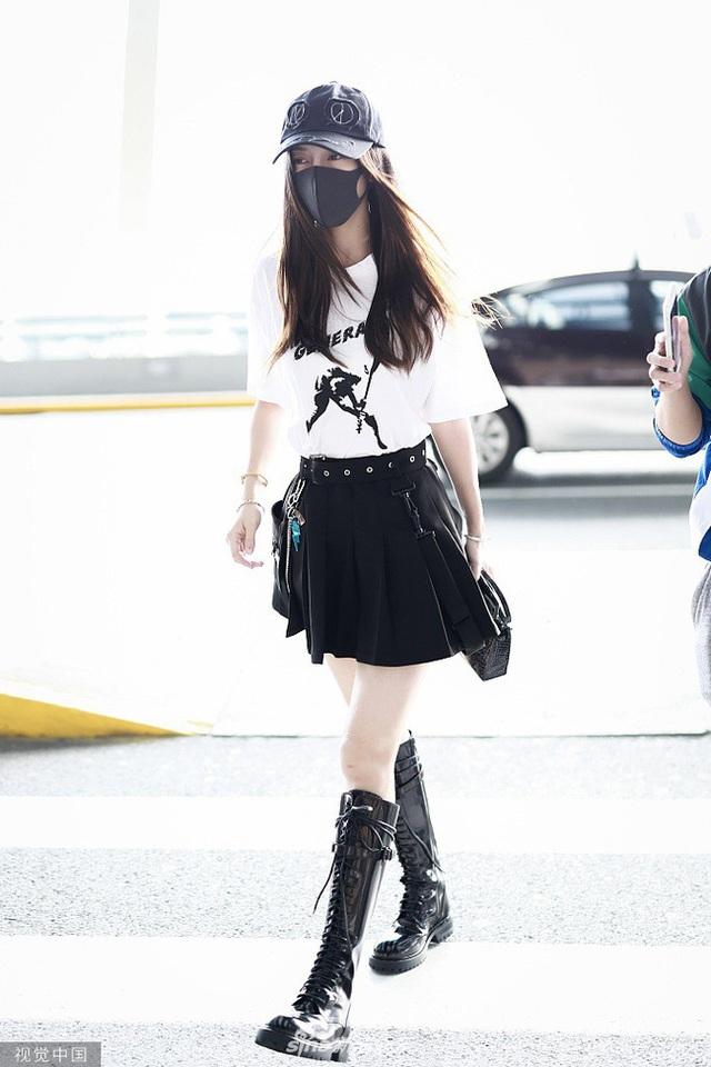 Angelababy đẹp xuất sắc trên thảm đỏ LHP Busan - 14