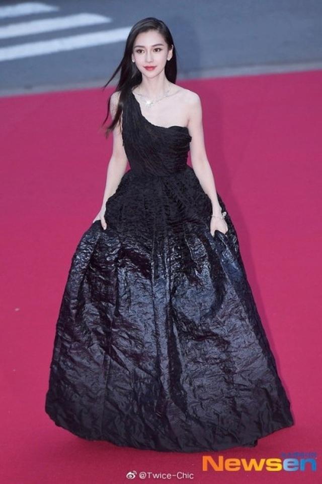 Angelababy đẹp xuất sắc trên thảm đỏ LHP Busan - 10