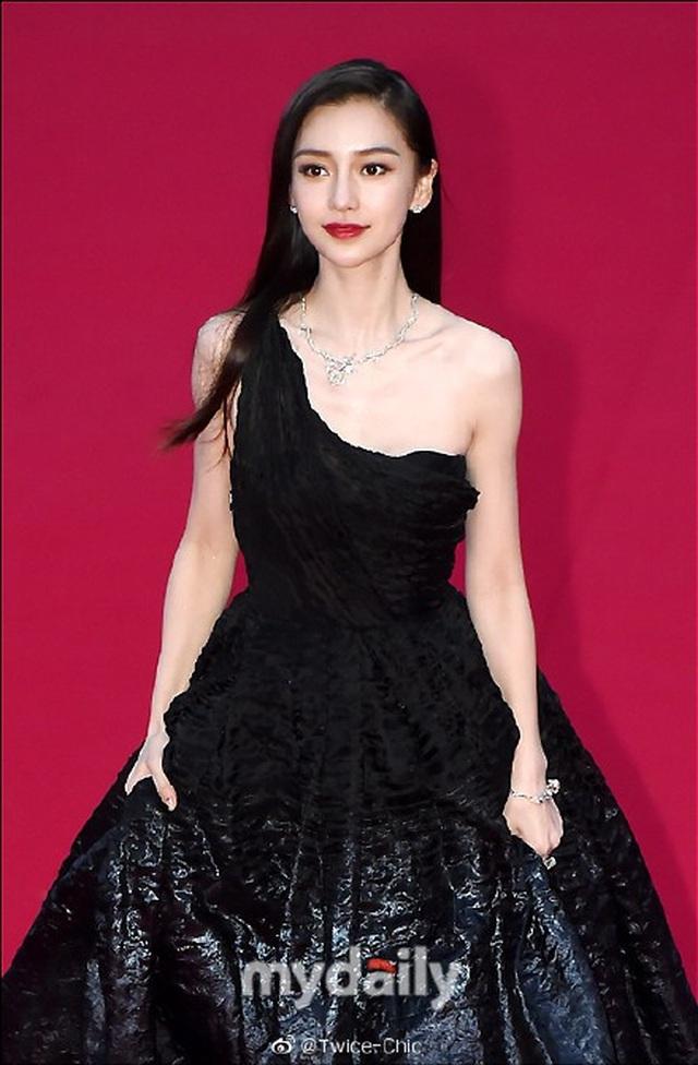 Angelababy đẹp xuất sắc trên thảm đỏ LHP Busan - 8