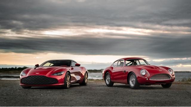 Aston Martin DBS GT Zagato - Siêu xe cũng bán theo kiểu bia kèm lạc - 1