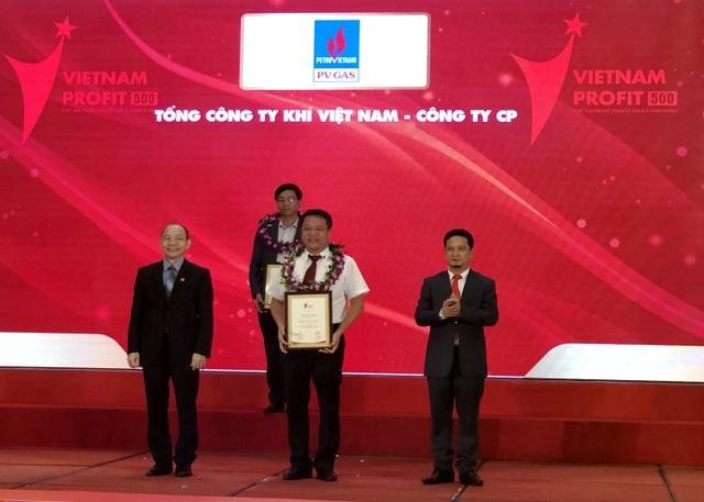 PV GAS đứng thứ 6 trong Top 500 Doanh nghiệp lợi nhuận tốt nhất Việt Nam năm 2019 - 3