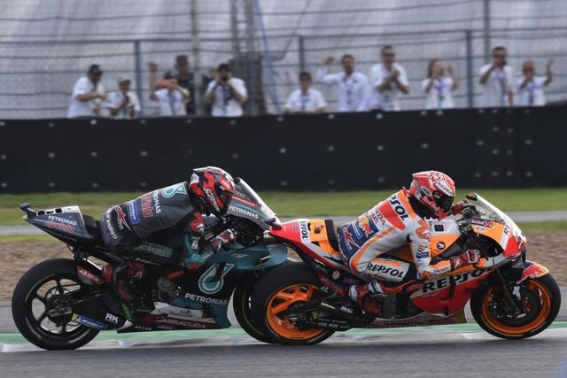 Chặng 15 MotoGP 2019: Marquez thắng ấn tượng trước Quartararo để vô địch thế giới - 7