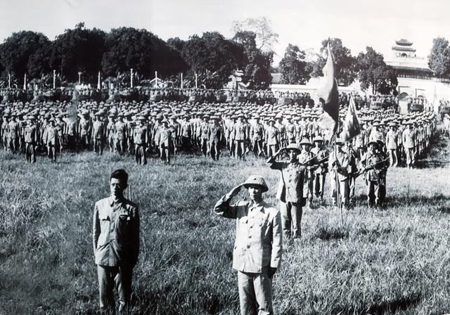 Lễ  chào cờ đặc biệt trong ngày giải phóng Thủ đô - 6