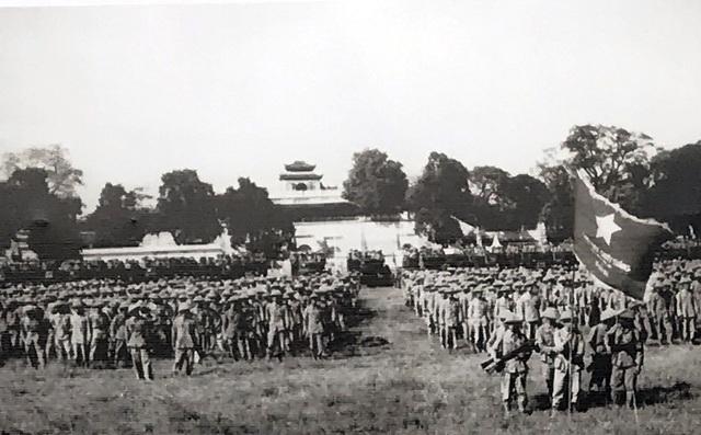 Lễ  chào cờ đặc biệt trong ngày giải phóng Thủ đô - 1