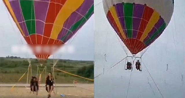 Khinh khí cầu bất ngờ nổ tung ở độ cao 3000 m khiến du khách tử vong tại chỗ - 1