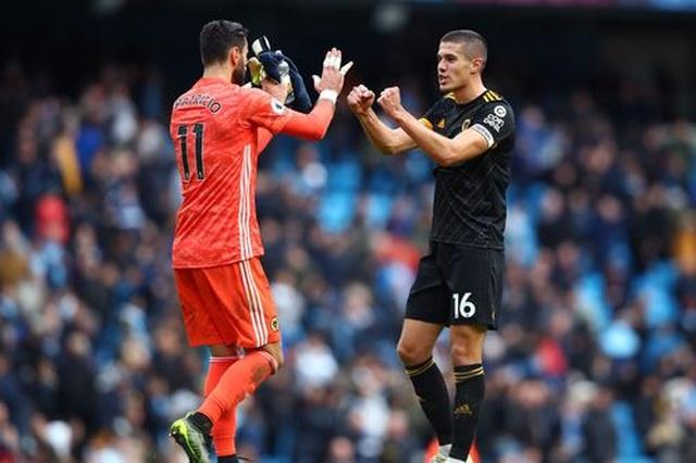 Những khoảnh khắc gục ngã của Man City trước Wolves tại Etihad - 17