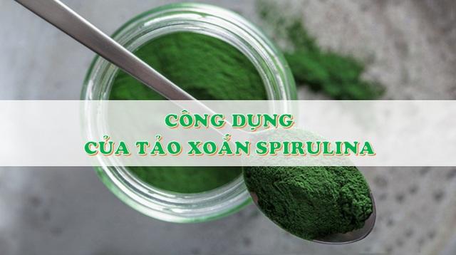 """Vì sao tảo Spirulinađược coi là """"Thực phẩm bảo vệ sức khỏe tốt nhất của loài người trong thế kỷ 21""""? - 3"""