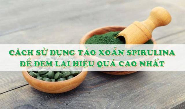 """Vì sao tảo Spirulinađược coi là """"Thực phẩm bảo vệ sức khỏe tốt nhất của loài người trong thế kỷ 21""""? - 4"""