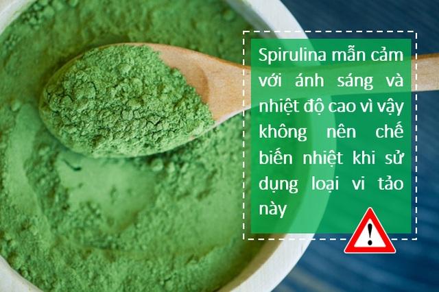 """Vì sao tảo Spirulinađược coi là """"Thực phẩm bảo vệ sức khỏe tốt nhất của loài người trong thế kỷ 21""""? - 5"""