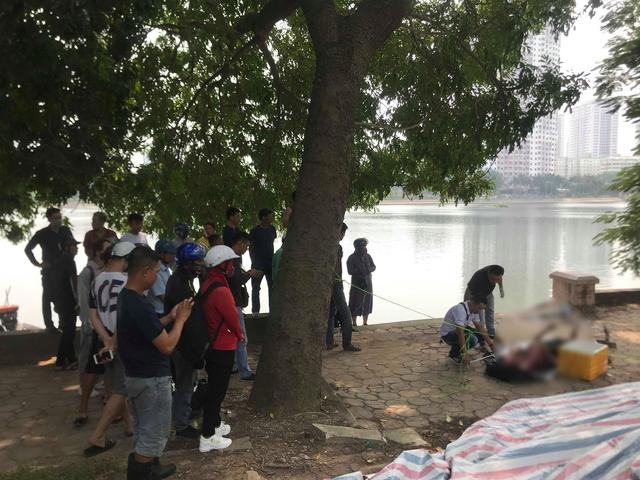Phát hiện thi thể nam thanh niên dưới hồ Linh Đàm - 2