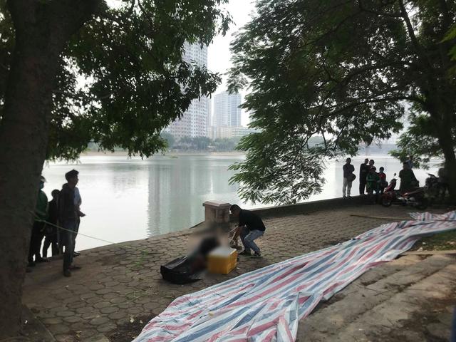 Phát hiện thi thể nam thanh niên dưới hồ Linh Đàm - 1