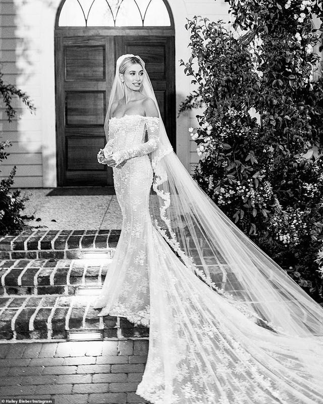 Vợ Justin Bieber hé lộ thêm ảnh cưới - 6