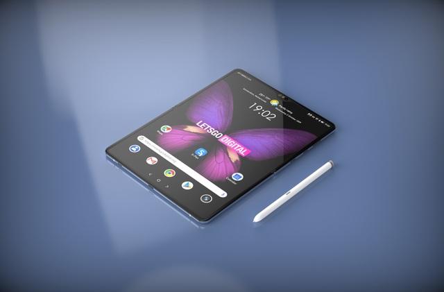 Samsung lộ ý định gộp 2 dòng Galaxy Note và Galaxy Fold qua bằng sáng chế mới - 1