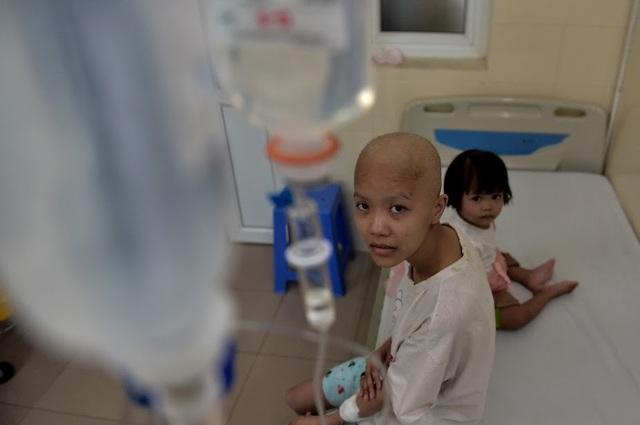 """Rơi lệ hình ảnh những """"chiến binh"""" đầu trọc kiên cường chiến đấu ung thư - 1"""