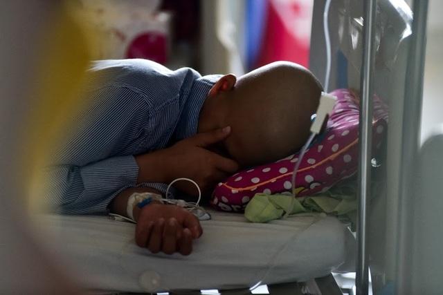 """Rơi lệ hình ảnh những """"chiến binh"""" đầu trọc kiên cường chiến đấu ung thư - 6"""