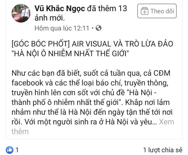 Thầy giáo Việt gửi lời xin lỗi sau khi đăng đàn kêu gọi tẩy chay AirVisual - 3