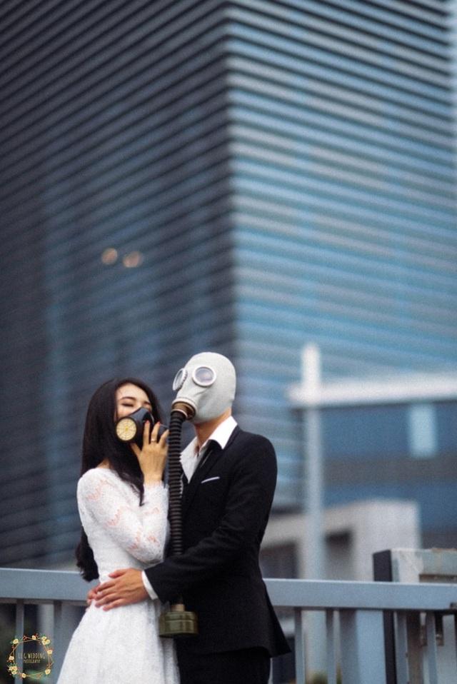 Bộ ảnh đeo mặt nạ cảnh báo ô nhiễm không khí gây ám ảnh dân mạng - 9