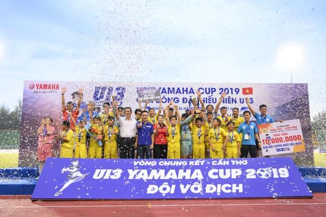 TP Cần Thơ: Chung kết Giải bóng đá thiếu niên U13 Yamaha Cup 2019 kịch tính và hấp dẫn - 3