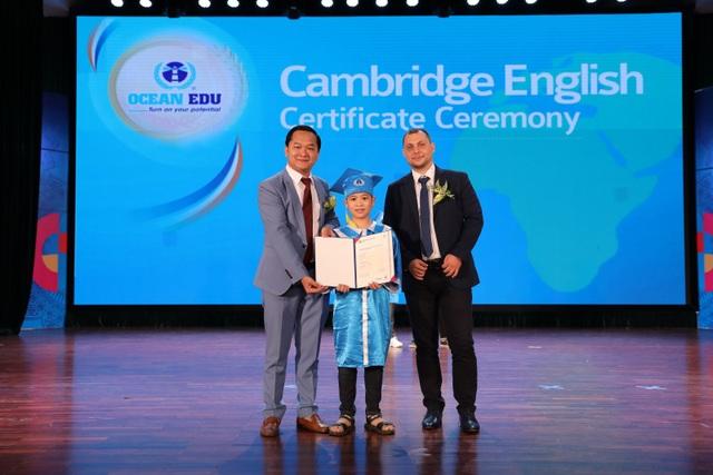 Ocean Edu vinh danh 2.000 học viên xuất sắc kỳ thi Cambridge Quốc tế - 2