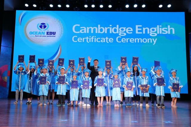 Ocean Edu vinh danh 2.000 học viên xuất sắc kỳ thi Cambridge Quốc tế - 5