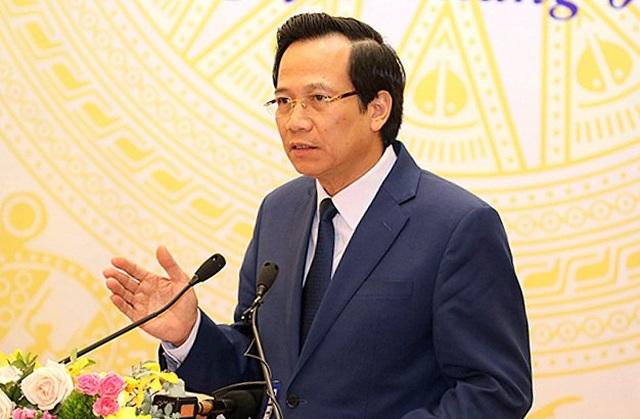 Bộ trưởng Đào Ngọc Dung trực tiếp chỉ đạo lĩnh vực xuất khẩu lao động - 1