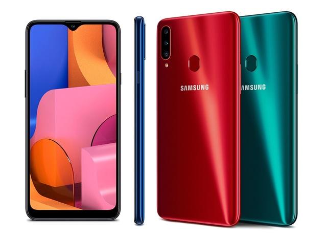 Samsung bán Galaxy A20s - Smartphone tầm trung với pin lớn và 3 camera tại Việt Nam - 1