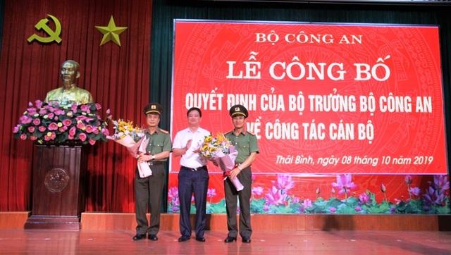 Giám đốc Công an Thái Bình được điều động làm Phó Cục trưởng Cục Cảnh sát Quản lý trại giam - 1