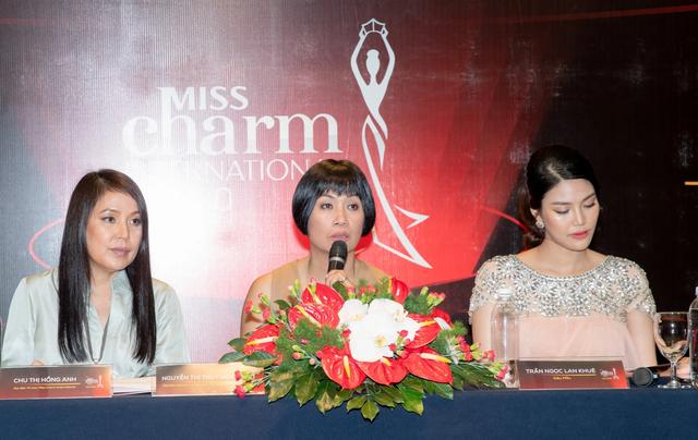 """""""Bà bầu"""" Lan Khuê khoe dáng cùng Á hậu Huyền My - 12"""