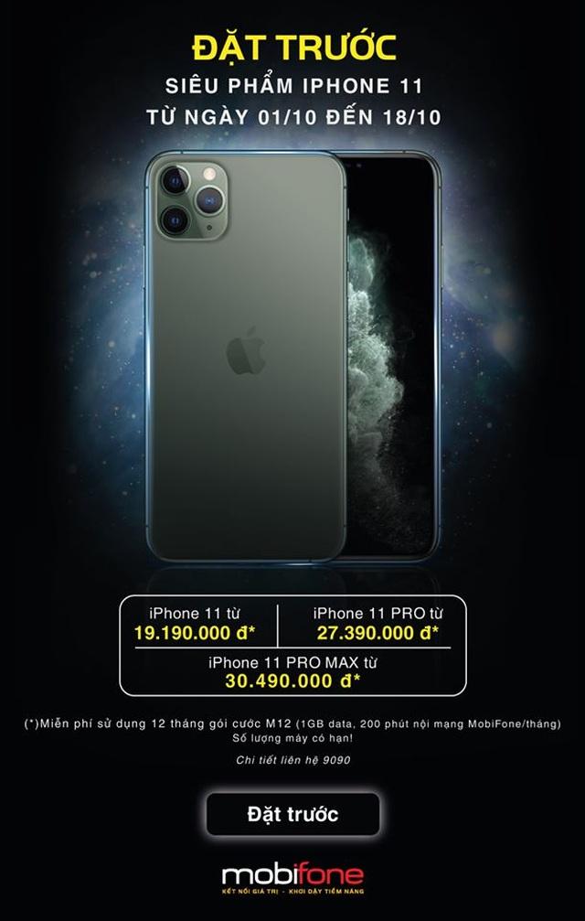 """Đặt trước iPhone 11/ 11 Pro/11 Pro Max """"lãi"""" ngay hơn 3,6 triệu đồng - 1"""