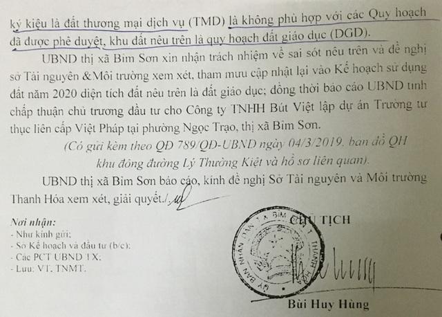 """Chuyện lạ tại Thanh Hoá: Chủ đầu tư khốn đốn vì quy hoạch đất bị """"đổ nhầm mầu mực"""" - 5"""