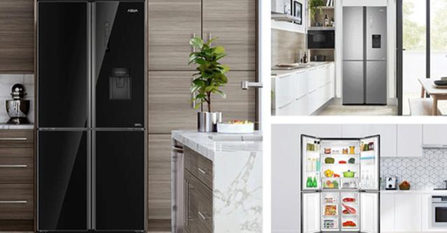 Những công nghệ hiện đại trên tủ lạnh AQUA bốn cửa - 1