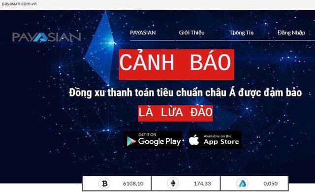Công an Hà Nội cảnh báo lừa đảo, huy động tiền qua ví điện tử Payasian - 1